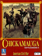 Обложка Battleground 9: Chickamauga