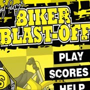 Обложка Biker Blast-Off!