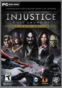 Обложка Injustice: Gods Among Us - Ultimate Edition