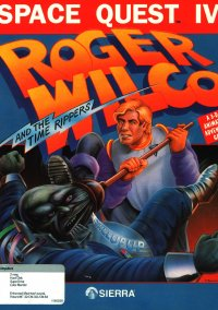 Обложка Space Quest 4: Roger Wilco and the Time Rippers