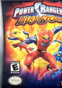 Обложка Power Rangers Ninja Storm