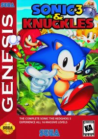 Обложка Sonic the Hedgehog 3 & Knuckles