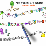 Скриншот Your Doodles Are Bugged!