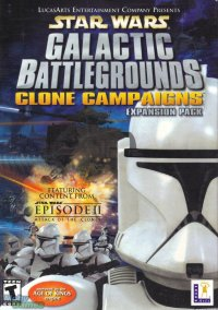 Обложка Star Wars: Galactic Battlegrounds - Clone Campaigns