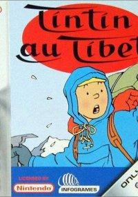 Обложка Tintin in Tibet