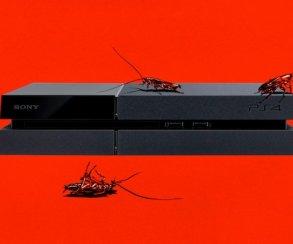 Как оказалось, тараканы очень любят PS4. Ивот почему