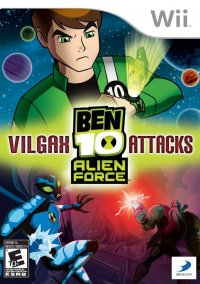 Обложка Ben 10 Alien Force: Vilgax Attacks
