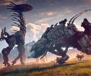20 минут нового геймплея Horizon: Zero Dawn: битвы, квесты, динозавры