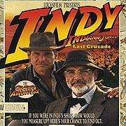 Обложка Indiana Jones and the Last Crusade