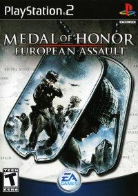 Обложка Medal of Honor: European Assault