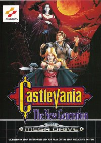Обложка Castlevania: The New Generation