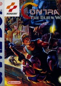 Обложка Contra: The Alien Wars