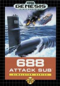 Обложка 688 Attack Sub
