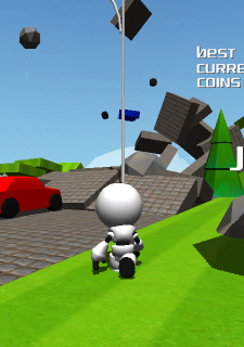 Super Robo Runner