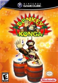 Обложка Donkey Konga