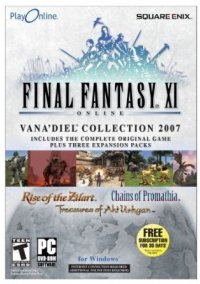 Обложка Final Fantasy XI: The Vana'diel Collection 2007