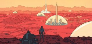 Surviving Mars. Дебютный трейлер