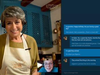В Skype Preview появился синхронный перевод голосовых звонков