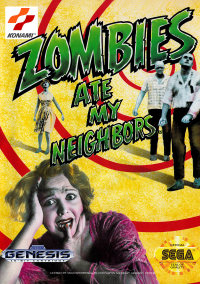 Обложка Zombies Ate My Neighbors