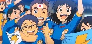 Inazuma Eleven 3: Lightning Bolt. Видео #1