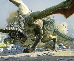Зеленый дракон задал жару на новых кадрах Dragon Age: Inquisition