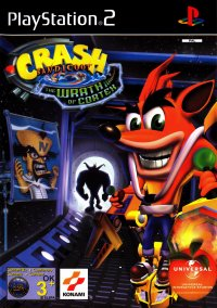 Обложка Crash Bandicoot: The Wrath of Cortex