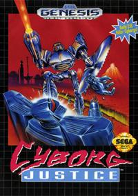 Обложка Cyborg Justice