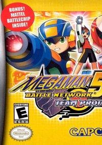 Обложка Mega Man Battle Network 5: Team Protoman