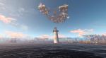 Колумбия в небе над Бостоном: мод добавляет летучий город в Fallout 4 - Изображение 3