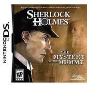Обложка Sherlock Holmes: Mystery of the Mummy