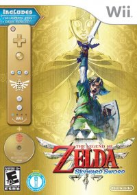2011 The Legend of Zelda: Skyward Sword Collector's Edition – фото обложки игры