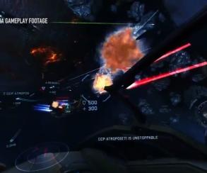 Орбитальный бой разгорелся в трейлере ранней версии Eve: Valkyrie