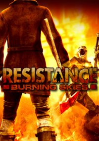Обложка Resistance: Burning Skies