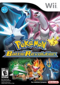 Обложка Pokémon Battle Revolution