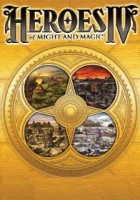Обложка Heroes of Might and Magic 4