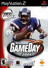 Обложка NFL GameDay 2004