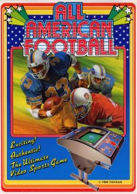 Обложка All American Football
