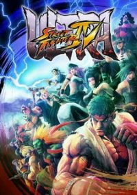 Обложка Ultra Street Fighter 4