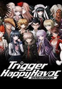 Обложка Danganronpa: Trigger Happy Havoc