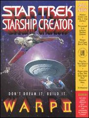 Обложка Star Trek Starship Creator Warp II