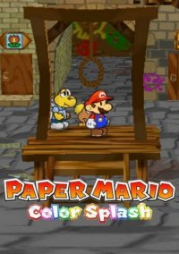 Обложка Paper Mario: Color Splash