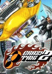 Обложка Crazy Taxi 2
