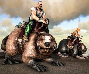 В Ark: Survival Evolved появились гигантские ездовые бобры