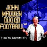 Скриншот John Madden Duo CD Football