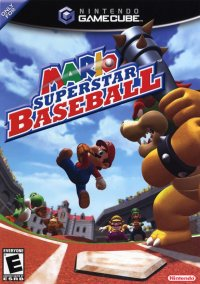 Обложка Mario Superstar Baseball