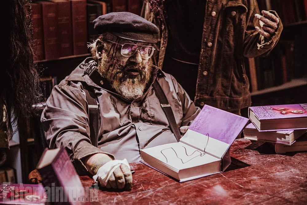 Зомби-Джордж Мартин дописал «Игру престолов» - Изображение 3