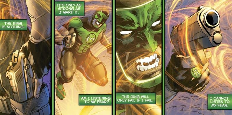 Зеленому фонарю больше не нужен пистолет, и все благодаря Бэтмену. - Изображение 5