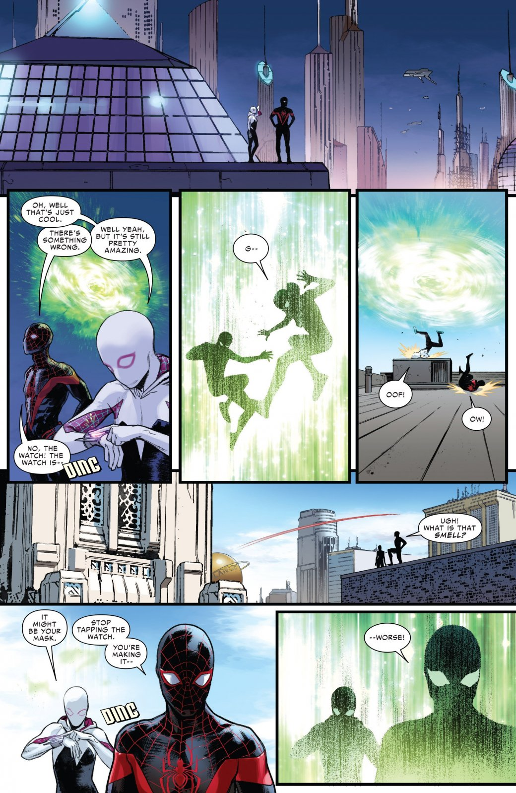 Финал кроссовера Человека-паука Майлза Моралеса и Гвен-паук - Изображение 9