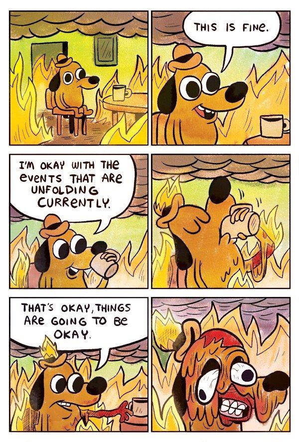 Почему пес в горящем доме стал популярным мемом - Изображение 1