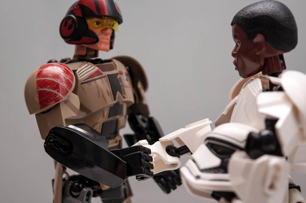 Нелепые приключения сборных фигурок LEGO Star Wars. - Изображение 8